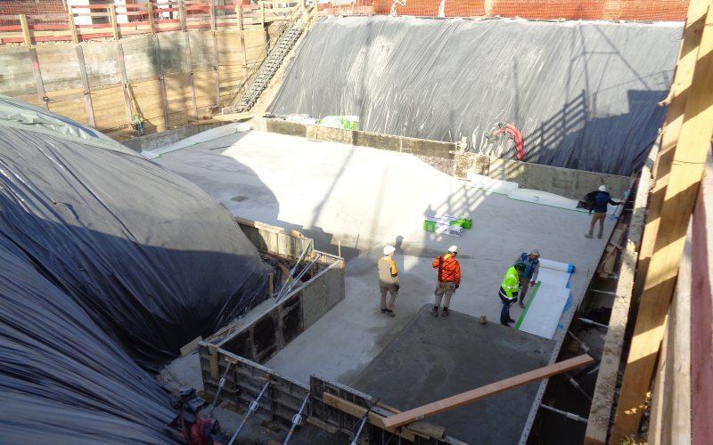 cuvelage par membrane extérieur - Aix-les-Bains - Savoie