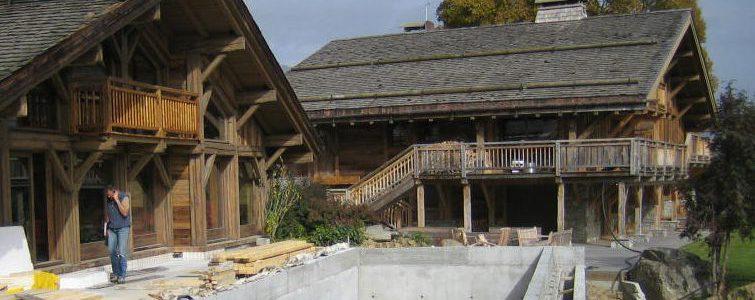 étanchéité de bassin de piscine - Megève - Haute-Savoie