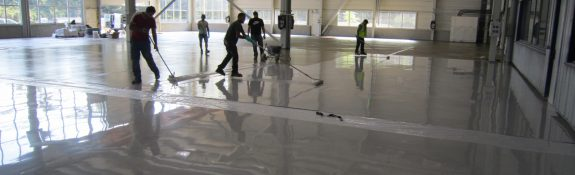Revêtement de sol coulé en résine autolissant - Grenoble - Isère