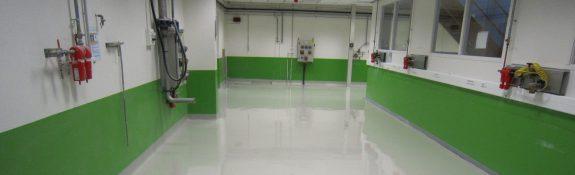 Revêtement de sol coulé - sol antistatique - industrie aérospatial - Sassenage - Isère