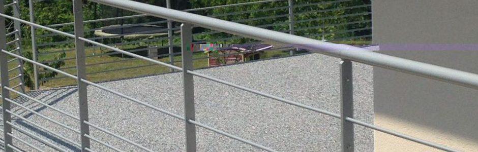 moquette de pierre sur balcon - Venon - Isère