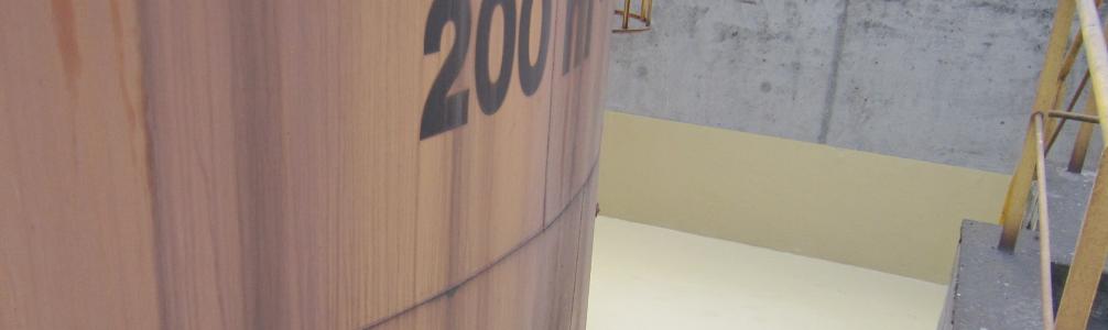 Revêtement anti-corrosion pour bac de rétention - Le Cheylas - Isère