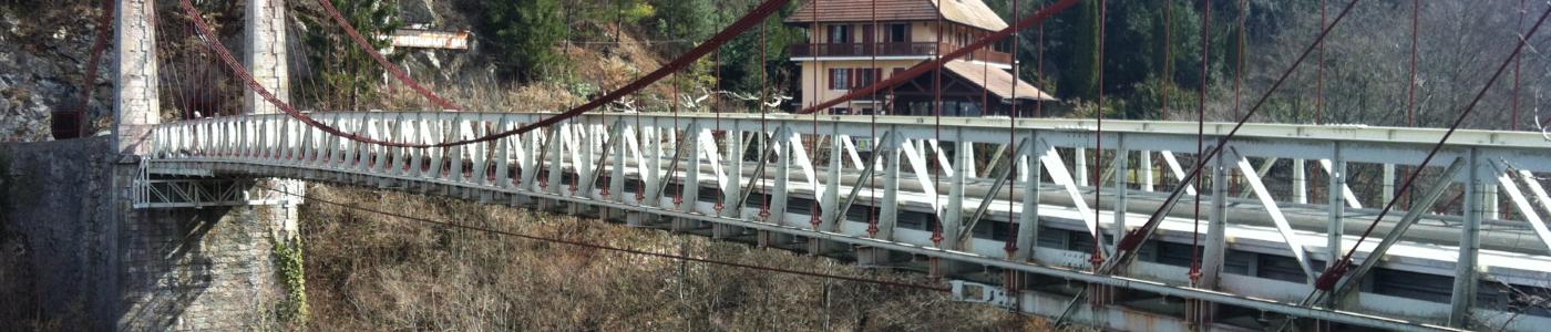 Revêtement de sol coulé en résine antidérapant sur pont - Cusy - Savoie